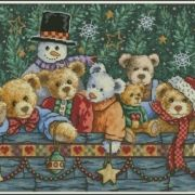 Dimensions 08761 Beary Christmas